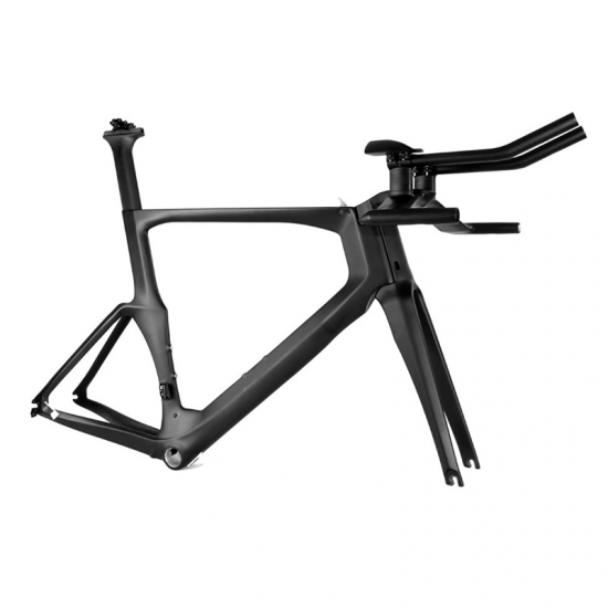 carbon time trial frameset